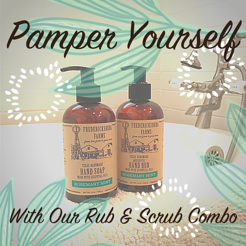 Pamper yourself with our scrub & rub combo