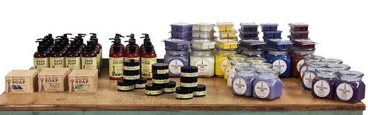Fredericksburg Farms Soaps, Lotions, and Candles