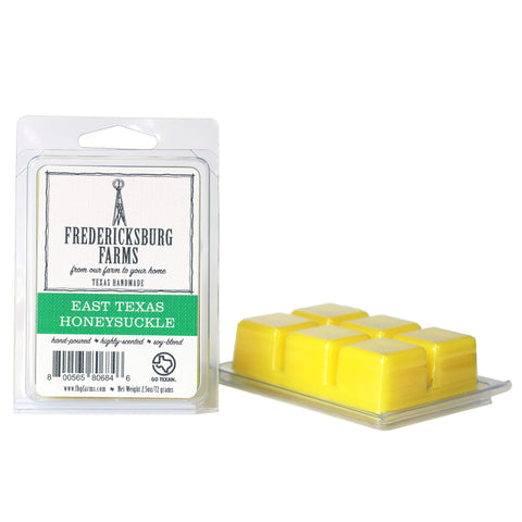 East Texas Honeysuckle Wax Melt - Fredericksburg Farms
