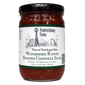 Watershed Ranch Roasted Chipotle Salsa - Fredericksburg Farms