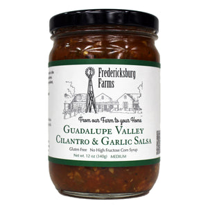 Guadalupe Valley Cilantro & Garlic Salsa - Fredericksburg Farms