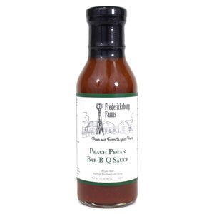 Peach Pecan Bar-B-Q Sauce - Fredericksburg Farms