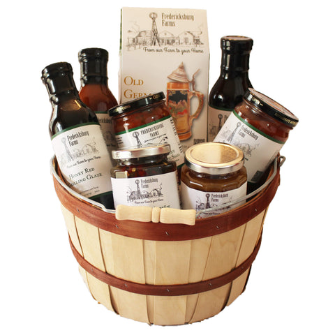 Gourmet Choice Gift Basket - Fredericksburg Farms