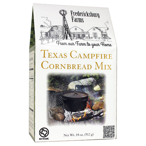 Texas Campfire Cornbread Mix - Fredericksburg Farms