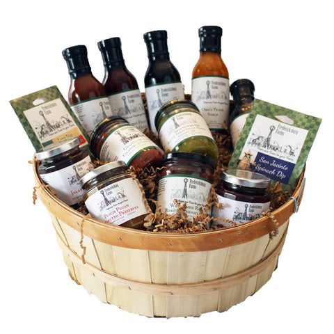 Celebration Gift Basket - Fredericksburg Farms
