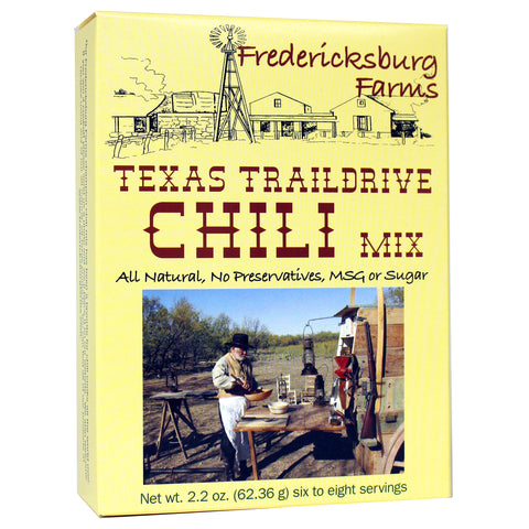 Texas Trail Drive Chili Mix - Fredericksburg Farms