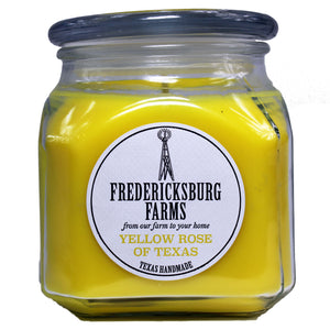Yellow Rose of Texas Candle (20 oz.) - Fredericksburg Farms