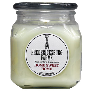 Home Sweet Home Candle (20 oz.) - Fredericksburg Farms