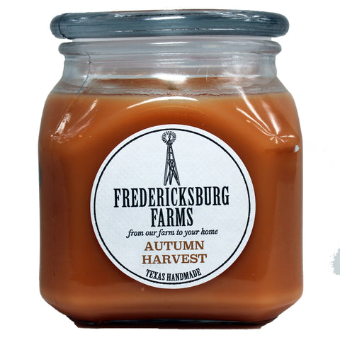 Autumn Harvest Candle (20 oz.) - Seasonal - Fredericksburg Farms