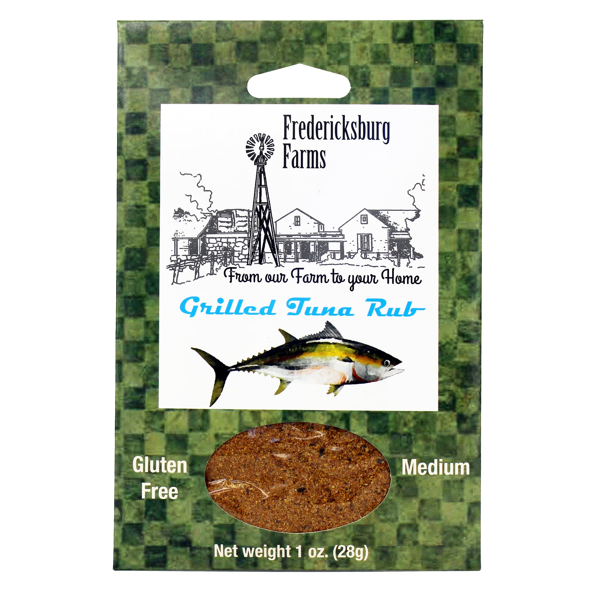 Grilled Tuna Rub - Fredericksburg Farms