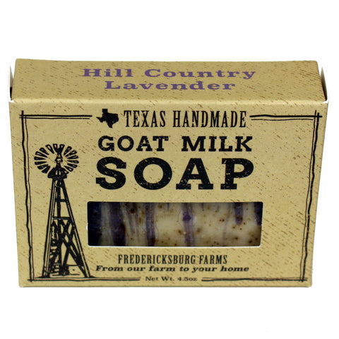 Hill Country Lavender Goat Milk Soap - Fredericksburg Farms
