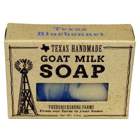 Texas Bluebonnet Goat Milk Soap - Fredericksburg Farms