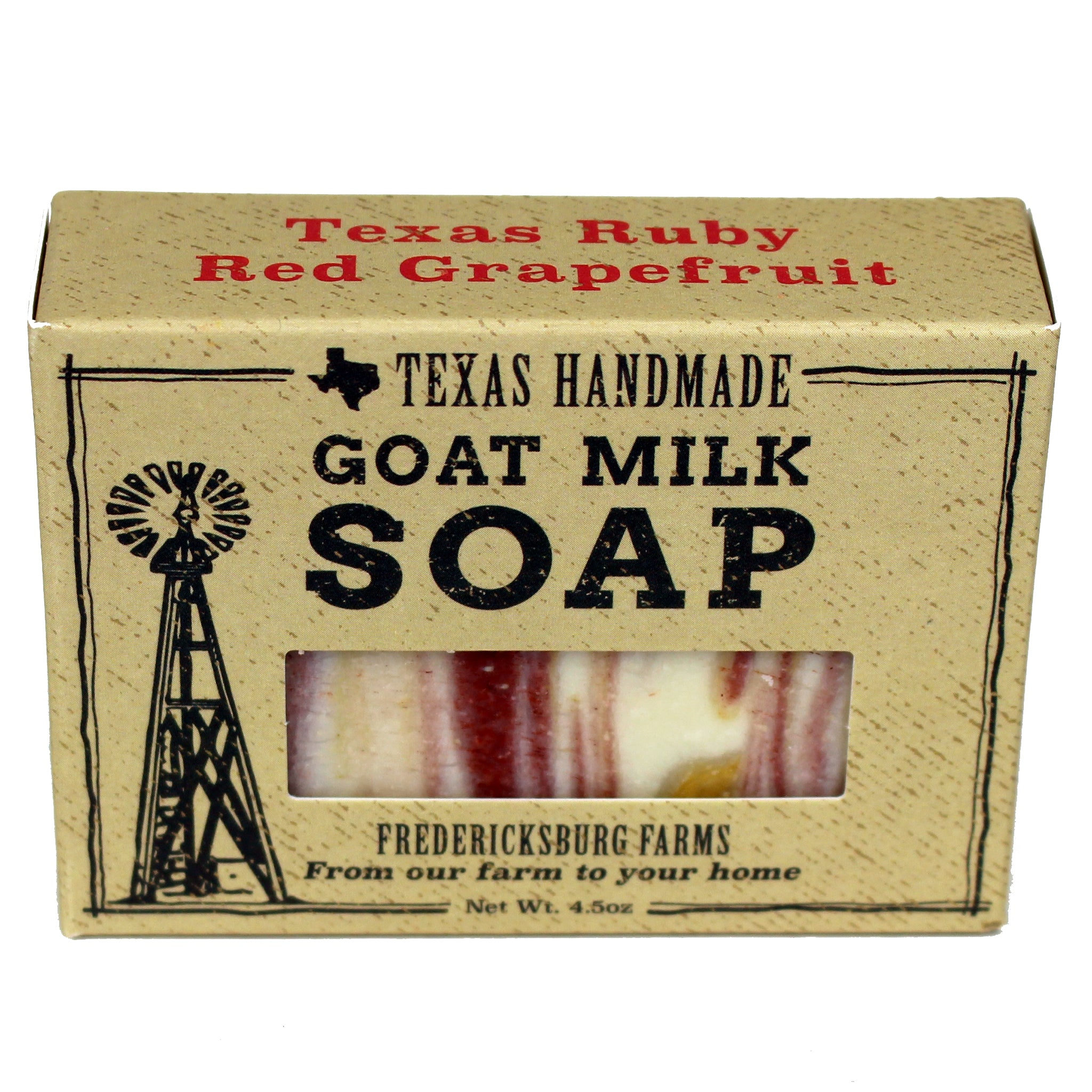 Texas Ruby Red Grapefruit Goat Milk Soap
