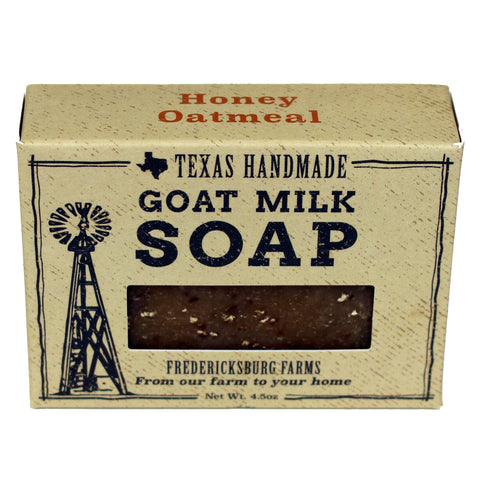 Honey Oatmeal Goat Milk Soap - Fredericksburg Farms