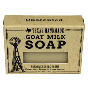 Unscented Goat Milk Soap