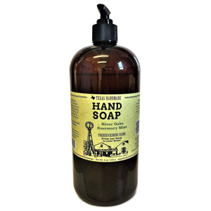 River Oaks Rosemary Mint Hand Soap (32 oz.)