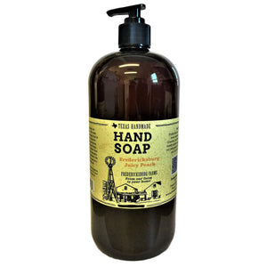 Fredericksburg Juicy Peach Hand Soap (32 oz.)