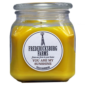 You Are My Sunshine Candle (20 oz.) - Seasonal