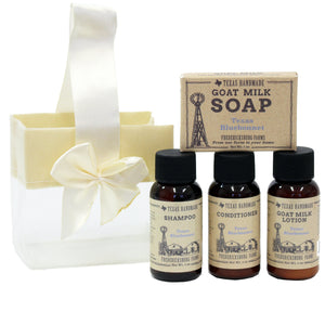 Texas Bluebonnet Travel Size Gift Set