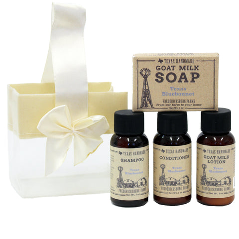 Texas Bluebonnet Travel Size Gift Set - Fredericksburg Farms