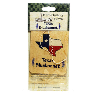 Texas Bluebonnet Air Freshener - Fredericksburg Farms