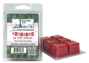 Deep in the Heart Wax Melts - Seasonal - Fredericksburg Farms