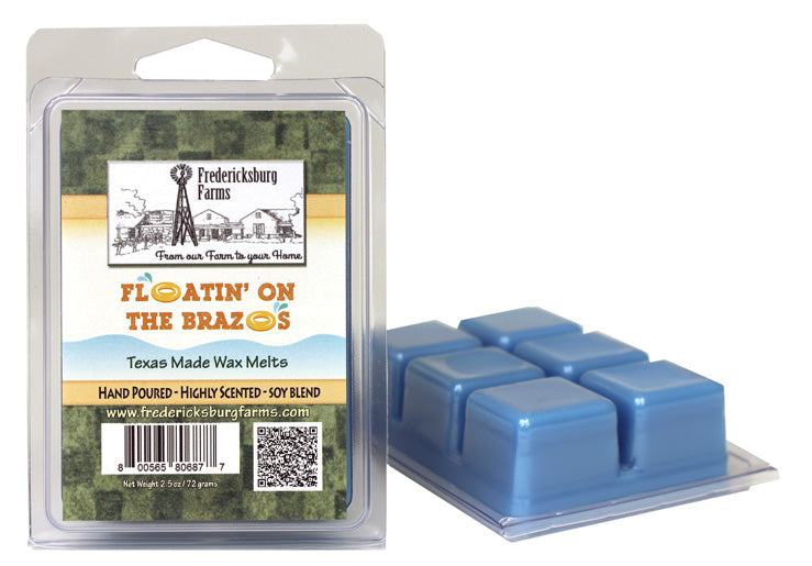 Floatin' on the Brazos Wax Melts - Seasonal - Fredericksburg Farms