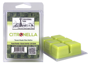 Citronella Wax Melts - Seasonal - Fredericksburg Farms