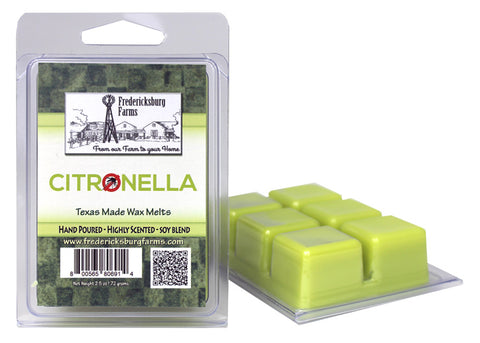 Citronella Wax Melts - Seasonal