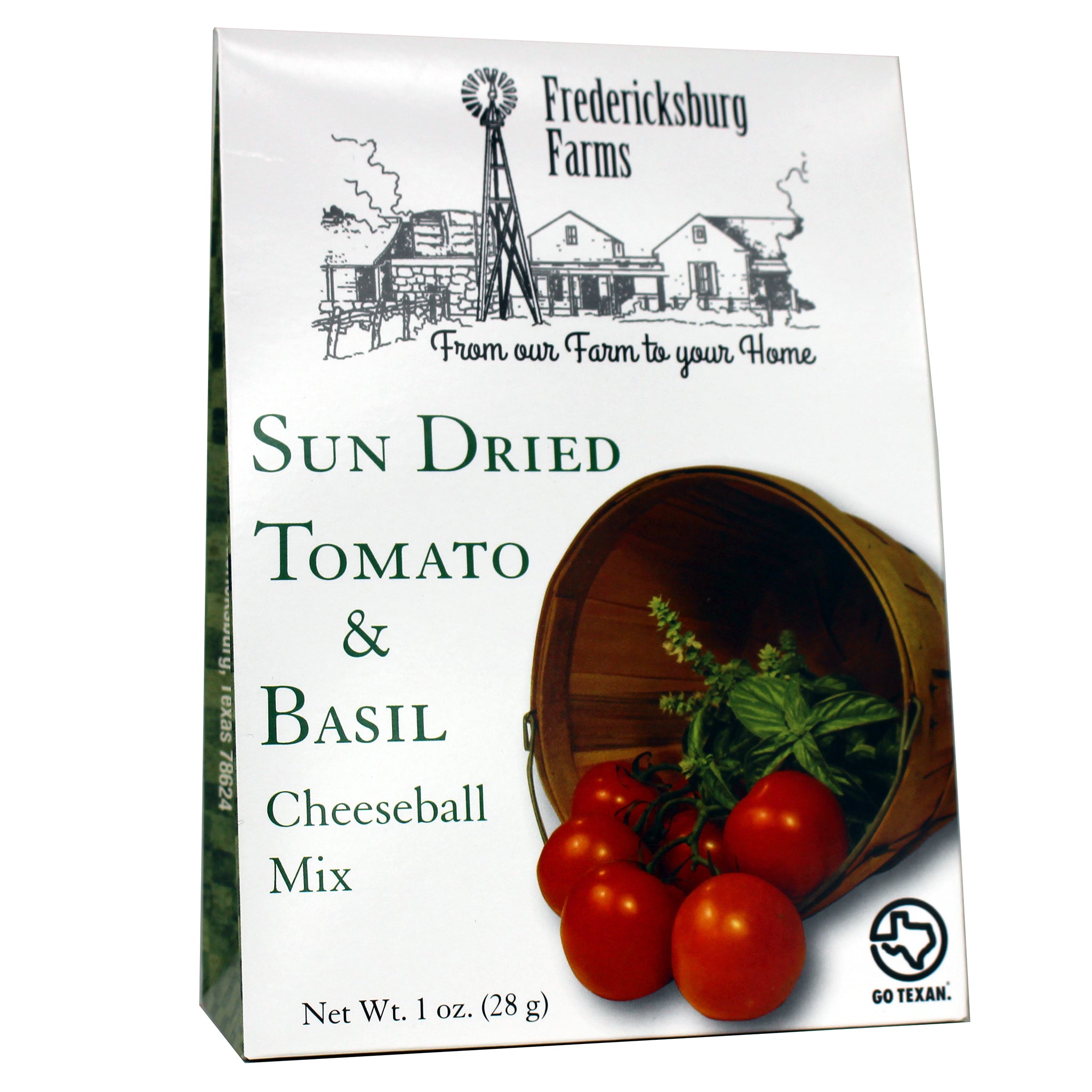 Sun Dried Tomato & Basil Cheeseball Mix - Fredericksburg Farms