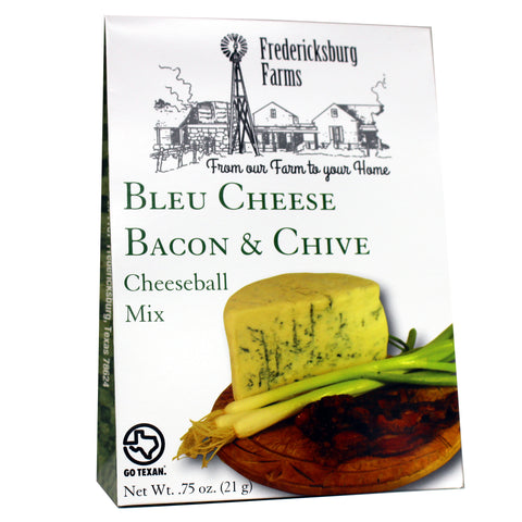 Bleu Cheese Bacon & Chive Cheeseball Mix - Fredericksburg Farms