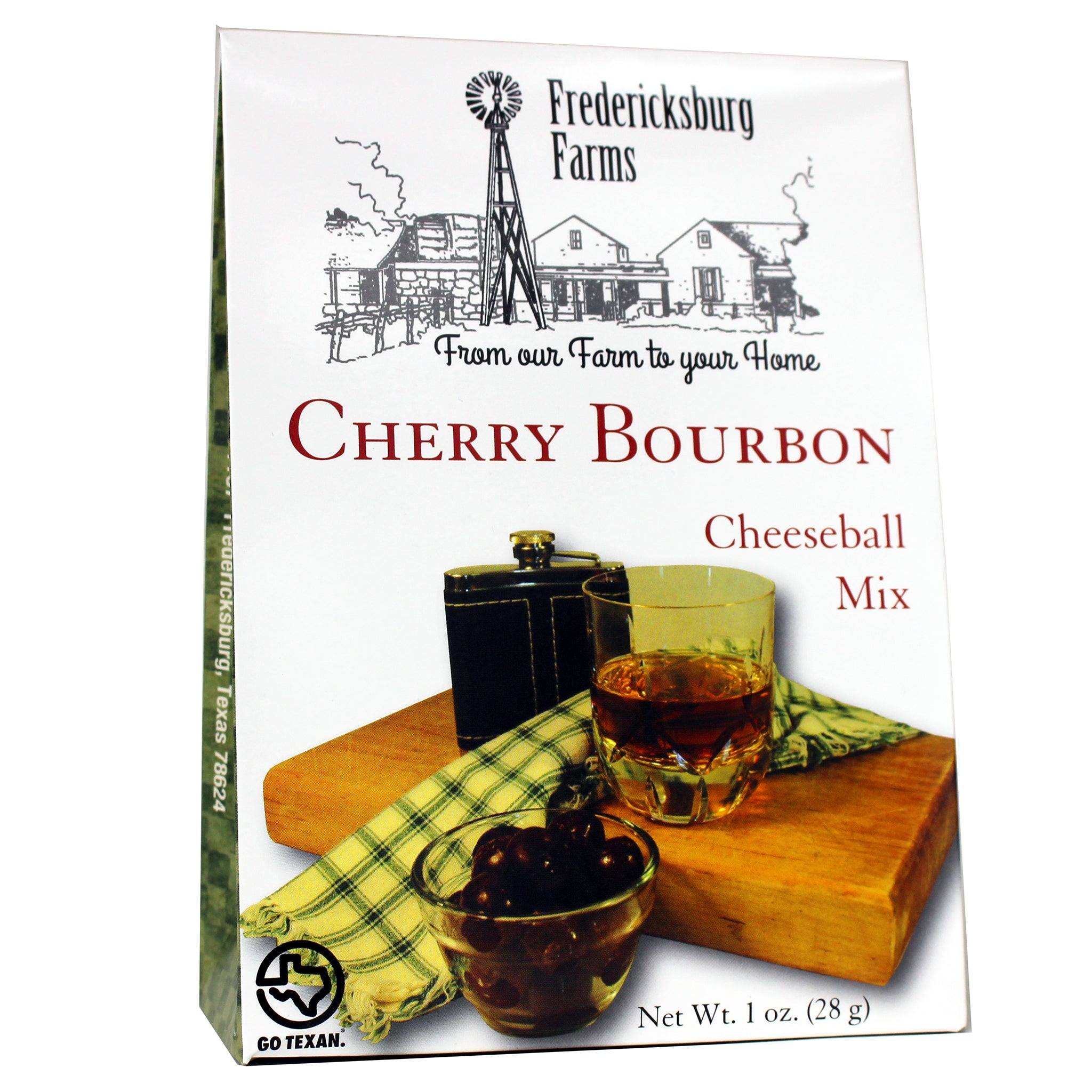 Cherry Bourbon Cheeseball Mix - Fredericksburg Farms