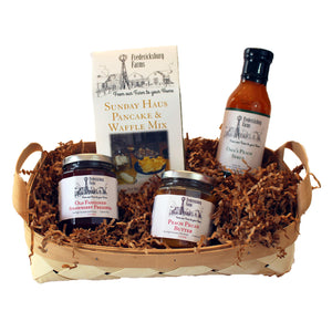 Texas Breakfast Basket - Large - Fredericksburg Farms