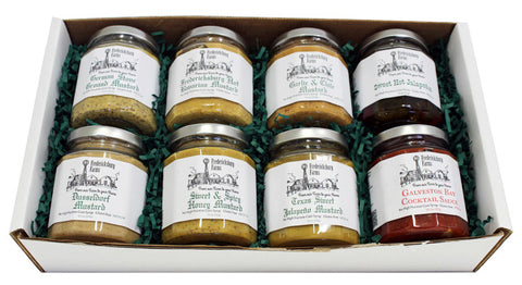Condiment Sampler Gift Box - Large