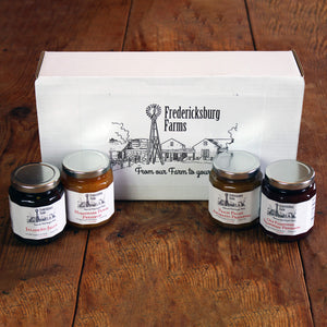 Jelly & Preserve Sampler Gift Box - Small - Fredericksburg Farms