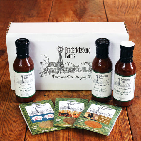 BBQ Gift Box - Fredericksburg Farms