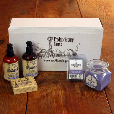 Hill Country Lavender Gift Box - Fredericksburg Farms