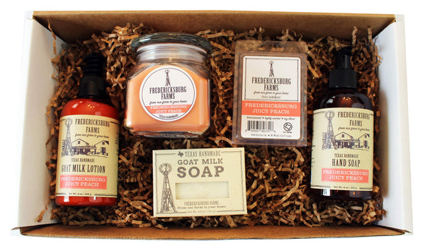 Fredericksburg Juicy Peach Gift Box - Fredericksburg Farms