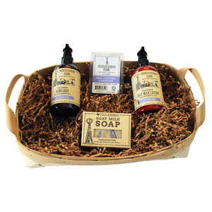 Hill Country Lavender Gift Basket - Fredericksburg Farms