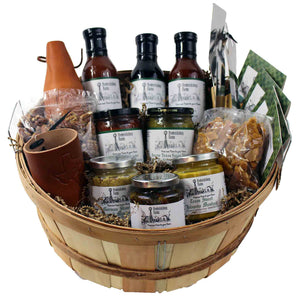 Texas BBQ Enthusiast Gift Basket - Large