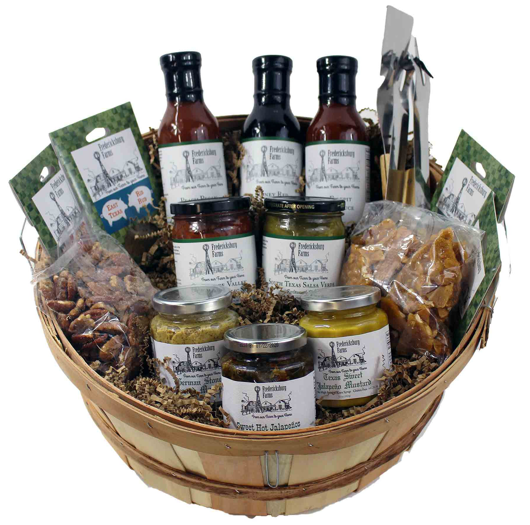 Texas BBQ Enthusiast Gift Basket - Small