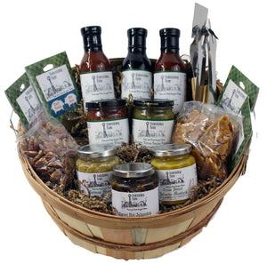 Texas BBQ Enthusiast Gift Basket - Small - Fredericksburg Farms
