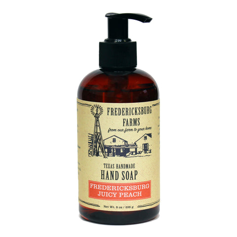 Fredericksburg Juicy Peach Hand Soap - Fredericksburg Farms