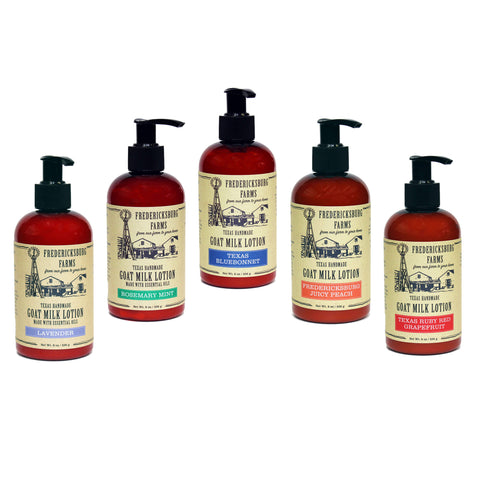 Goat Milk Lotion Sampler - Fredericksburg Farms