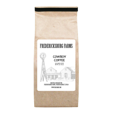 Cowboy Coffee 12 oz. - Fredericksburg Farms