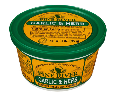 Garlic & Herb Cheese Spread - Fredericksburg Farms