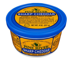 Sharp Cheddar Cheese Spread - Fredericksburg Farms