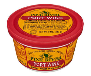 Port Wine Cheese Spread - Fredericksburg Farms