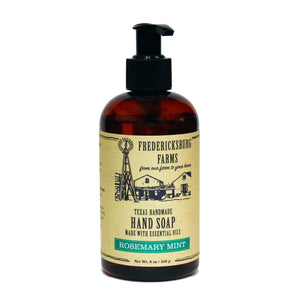 Rosemary Mint Handmade Hand Soap - Fredericksburg Farms