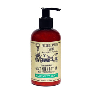 Rosemary Mint Goat Milk Lotion - Fredericksburg Farms